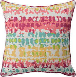 Technicolor    Pillow Kit - Mustard, Coral, Bright Pink, Mint, Lime, Ivory - Down - TEC023