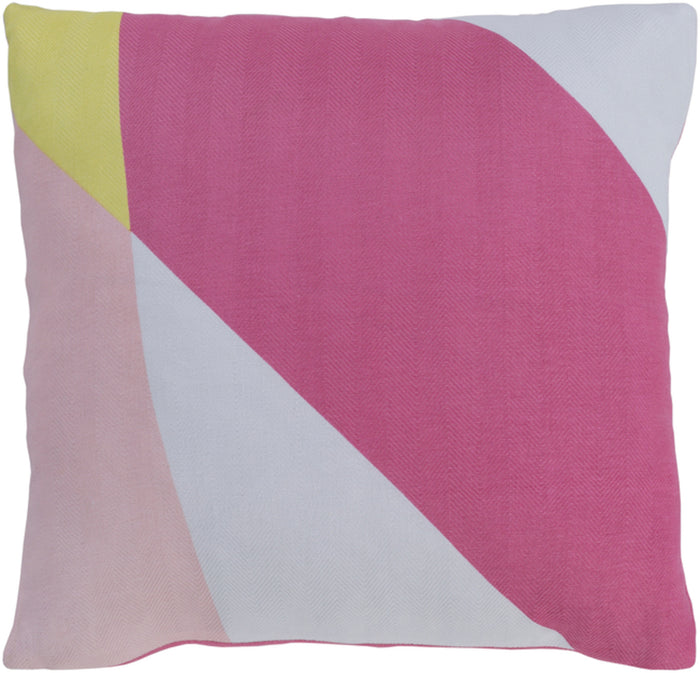 Teori Pillow Kit - Bright Pink, Peach, White, Bright Yellow - Poly - TO028