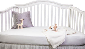 Cozy Earth - Bamboo Fitted Crib Sheet, Bedding, Cozy Earth, - ReeceFurniture.com - Free Local Pick Ups: Frankenmuth, MI, Indianapolis, IN, Chicago Ridge, IL, and Detroit, MI