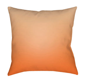 Textures Pillow Cover - Peach, Bright Orange, Coral - TX033