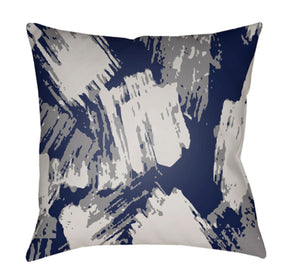 Textures Pillow Cover - Navy, Pale Blue - TX052