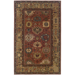 23107 Windsor Indoor Area Rug Pink/Beige
