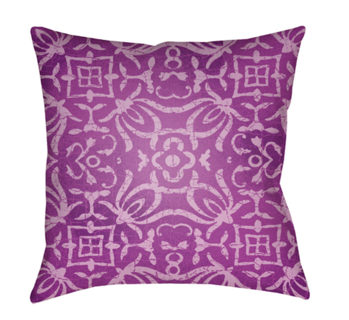 Yindi Pillow Cover - Bright Purple, Bright Pink - YN007