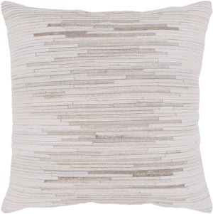 Zander Pillow Kit - Cream, Taupe, Tan - Down - ZND002