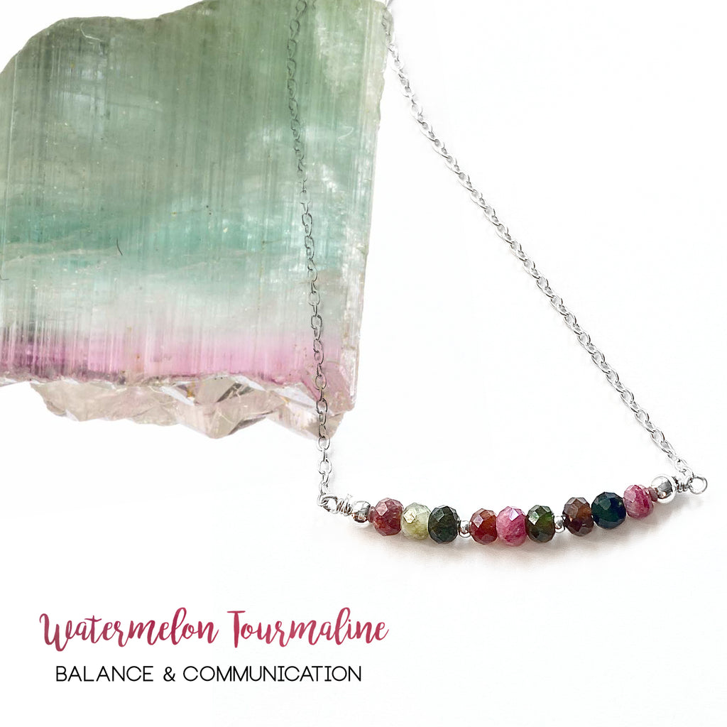 Watermelon Tourmaline: Stone of Balance and Communication