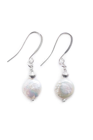 Pearl Drop Earrings - 100 Graces