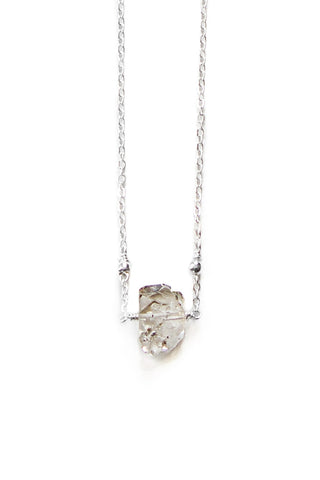 Herkimer Diamond Necklace - 100 Graces
