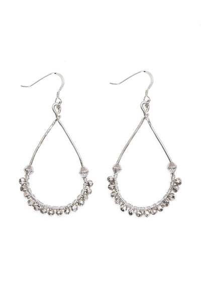 Aurora Earrings, Silver - 100 Graces