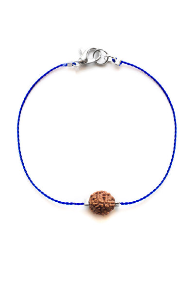 Dark Blue Simple Bodhi Seed Bracelet