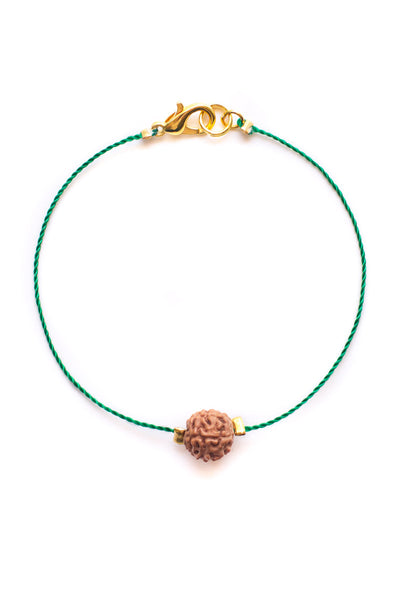 Green Bodhi Seed Diffuser Bracelet - 100 Graces