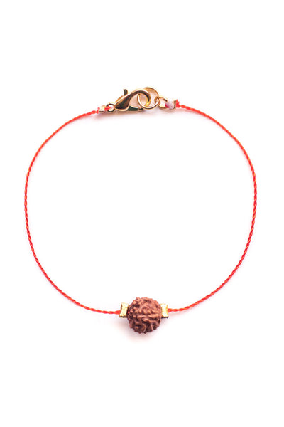 Orange Kids Bodhi Seed Diffuser Bracelet - 100 Graces