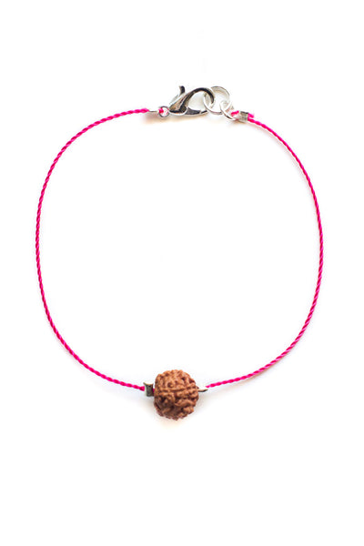 Pink Bodhi Seed Diffuser Bracelet - 100 Graces
