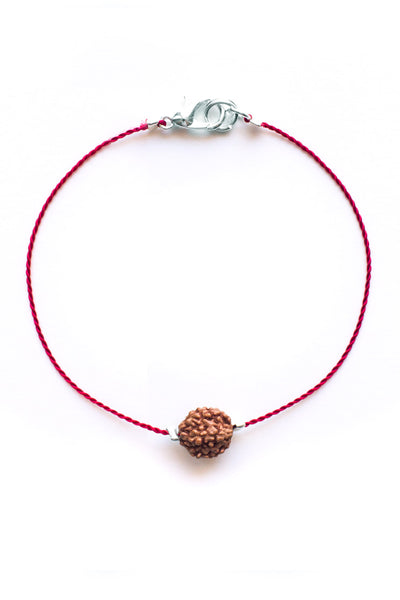 Red Bodhi Seed Diffuser Bracelet