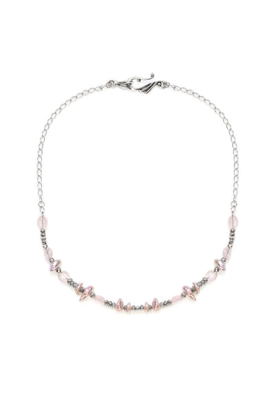 Simply Divine Necklace, Silver - 100 Graces