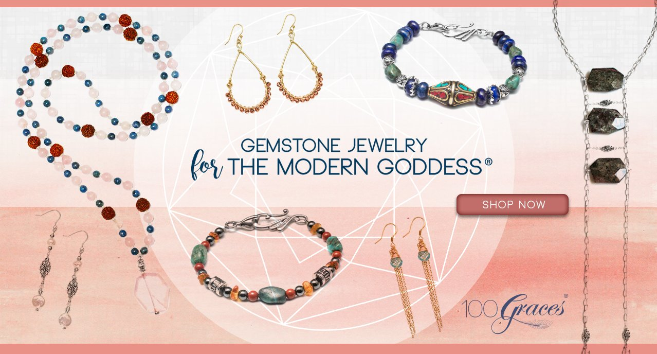 healing gemstone jewelry