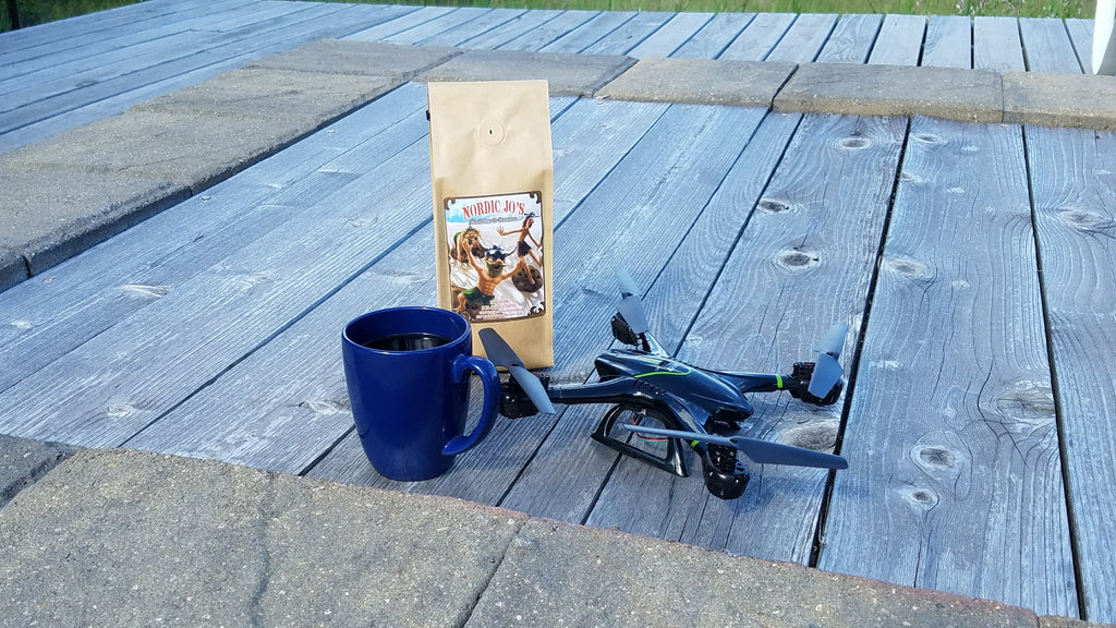 Can Drones Deliver Scalding Hot Coffee??