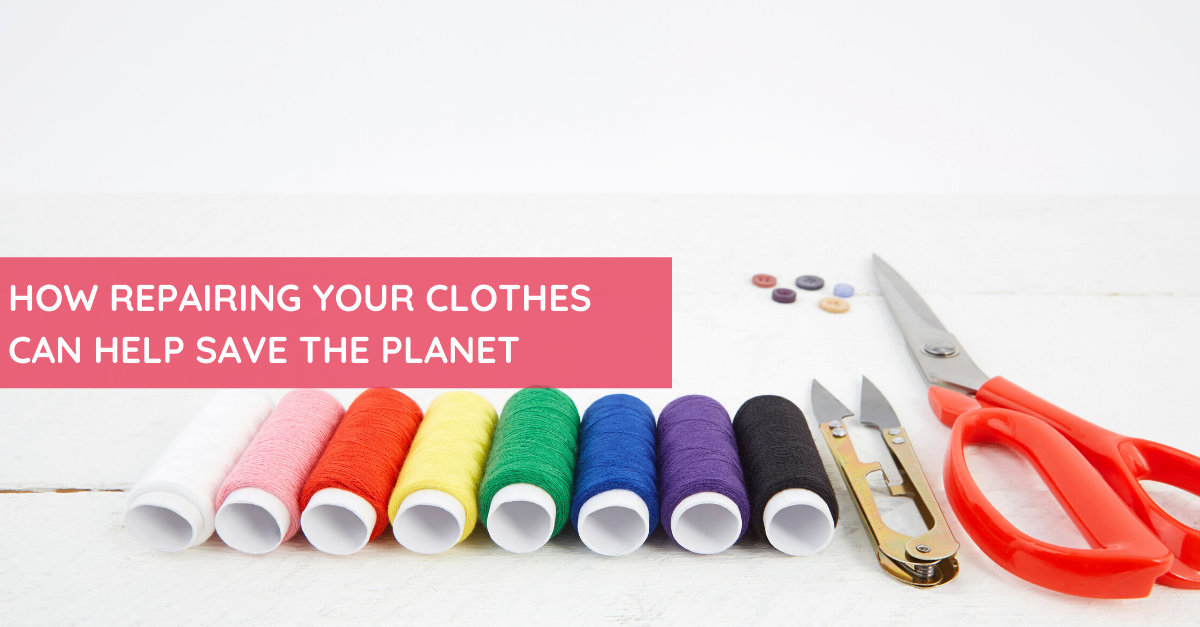 How Repairing Your Clothes Can Help Save the Planet