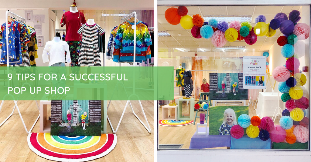 9 Tips for a Successful Pop Up Shop