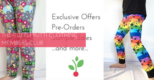 The Tutti Frutti Clothing Member's Club