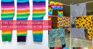 7 Ways to Stop Your Colourful Baby Leggings Fading in the Wash