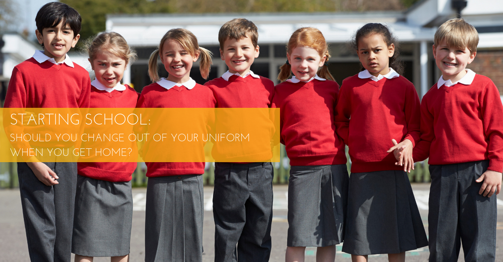 Starting School: Home Clothes vs School Uniform