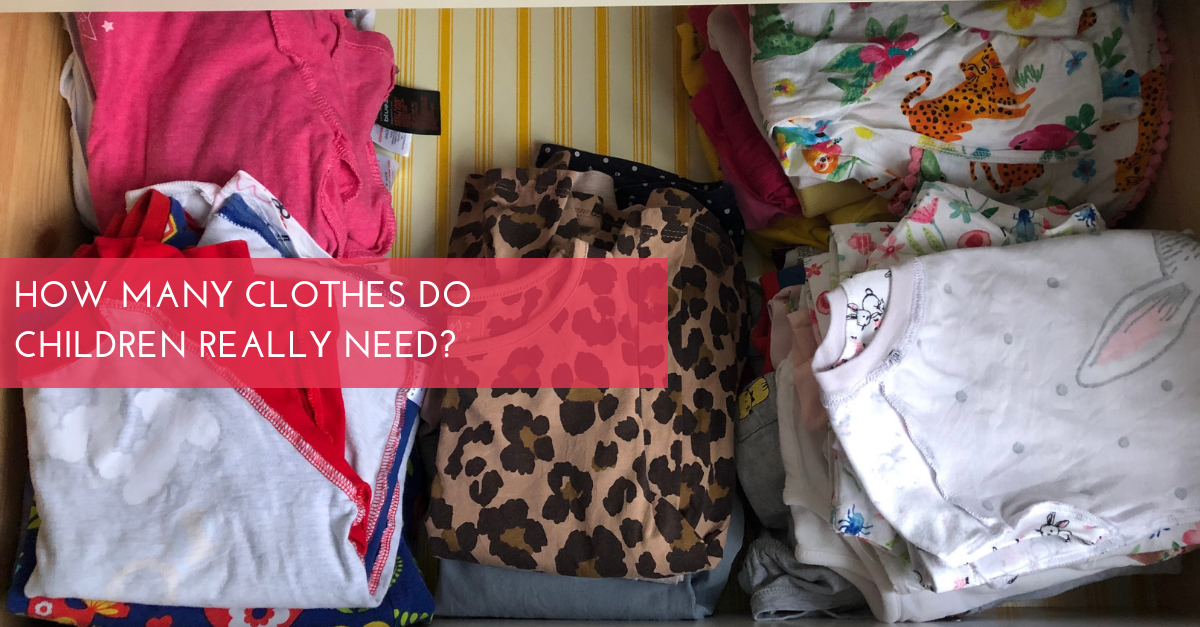 How Many Clothes Do Children Really Need?