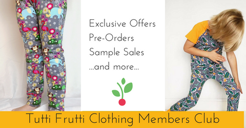 Tutti Frutti Clothing Members Club