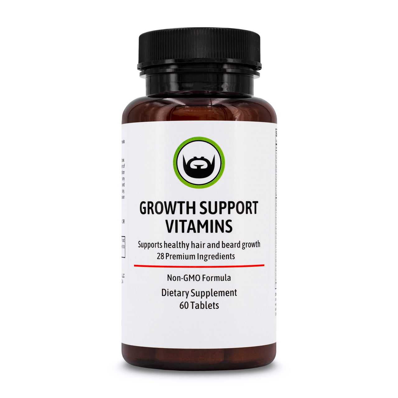 Growth Support Vitamins by Beard Organics