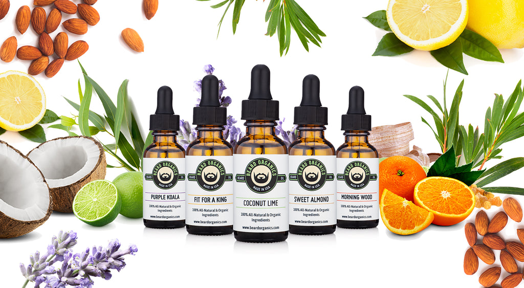 Organic Beard Oils by Beard Organics