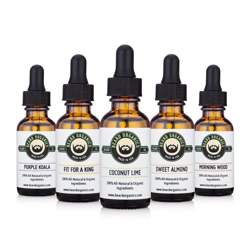 Beard Oil Collection Bundle by Beard Organics