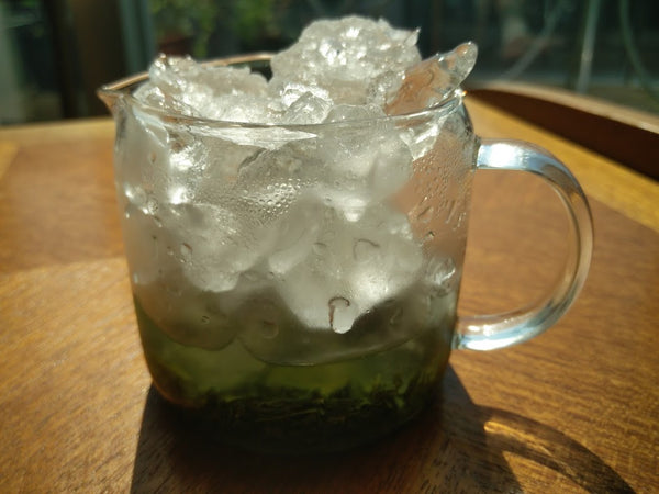 How to make iced Sencha and Gyokuro tea