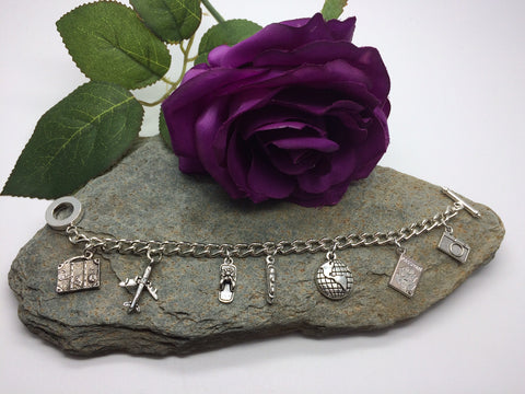 """Travel the World"" Charm Bracelet"