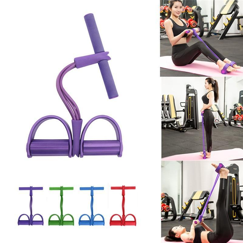 Fitness Gym 4 Tube Resistance Bands