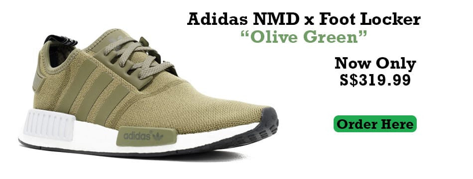 Adidas NMD Foot Locker Olive Green