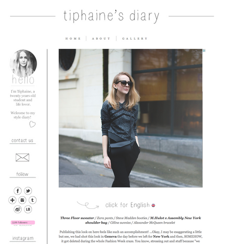 Tiphaine's Diary