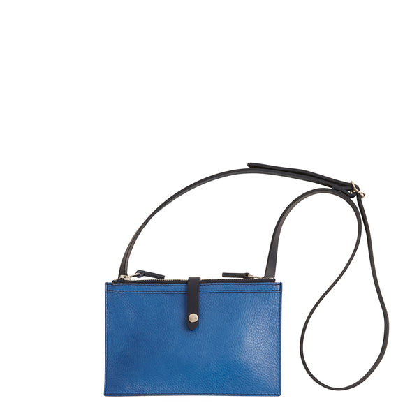 Hulot Pouch Bag - Cobalt/Prussian Blue