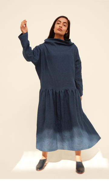 Lyn Dress - French Navy