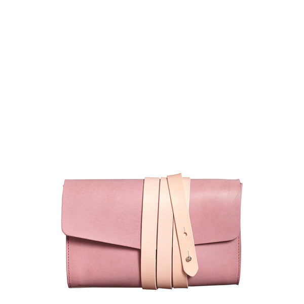 Garrard Clutch - Mauve with Rosa