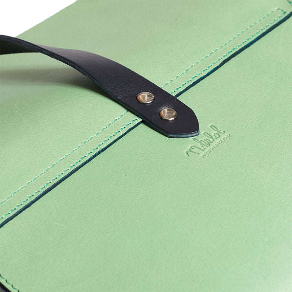 Garrard Clutch - Mint with Navy