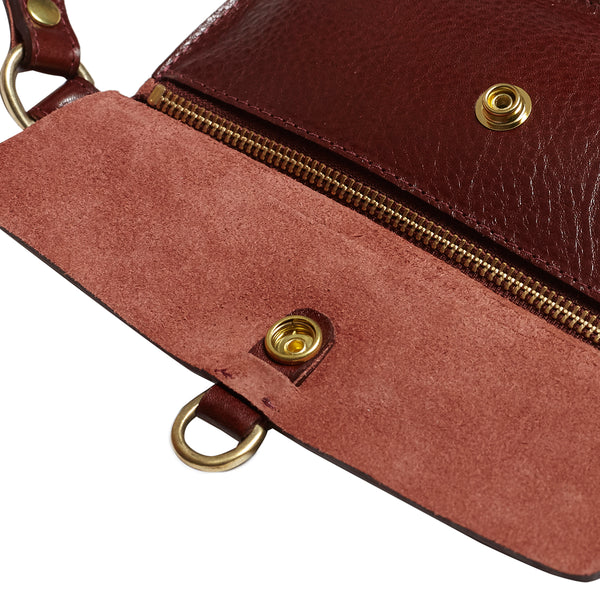 Honstu Pouch Belt - Red Earth