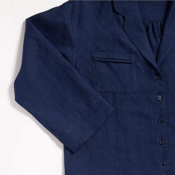 Magda Shirt - Navy