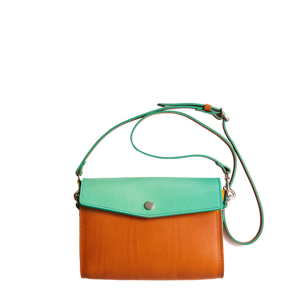 Poppered Howe - Mint/Camello