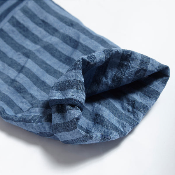 Parkers Striped Batwing - Cornflower