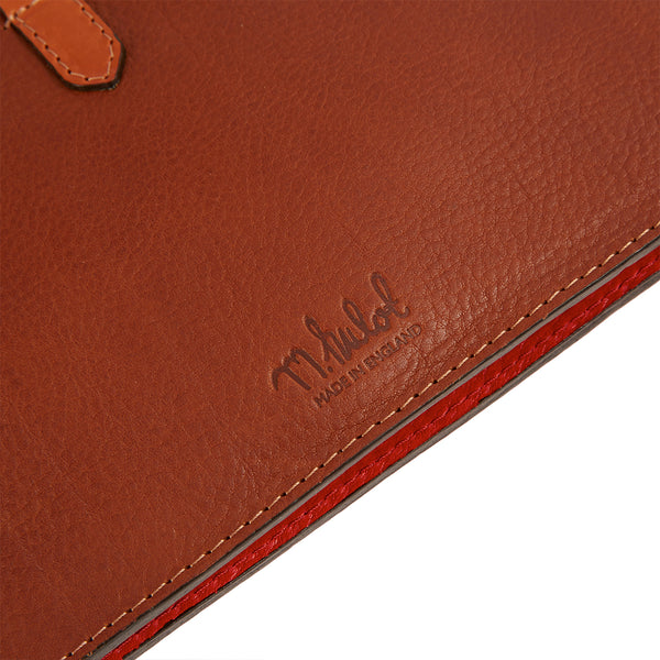 Hulot Pouch Bag - Red/Conker