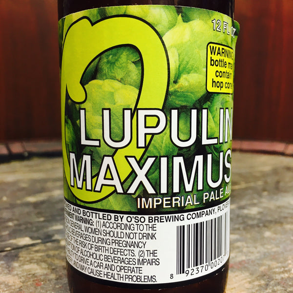 O'So Lupulin Maximus
