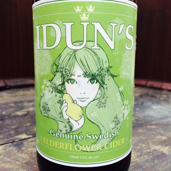 Iduns Elderflower Cider