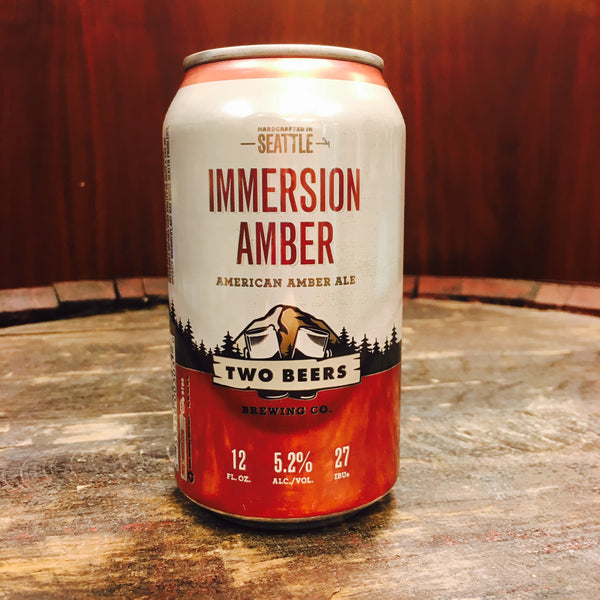 Two Beers Immersion Amber (can)