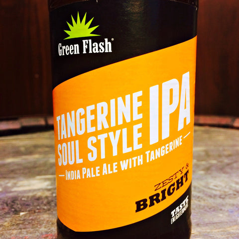 Green Flash Tangerine Soul Style IPA