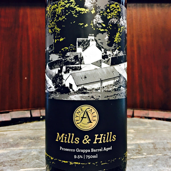 Fyne Mills & Hills Prosecco Grappa Barrel Aged Stout
