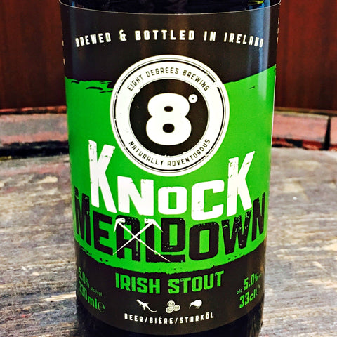 8 Degrees Knockmealdown Irish Stout